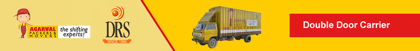 Double Door Home Carrier - Agarwal Packers and Movers