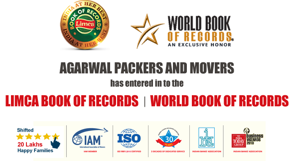 Awards and Achievements - Agarwal Packers and Movers DRS Group