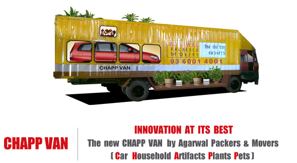 The New Chapp Van by Agarwal Packers and Movers