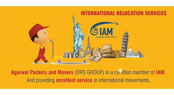 Agarwal International Packers and Movers - Certified Member of IAM